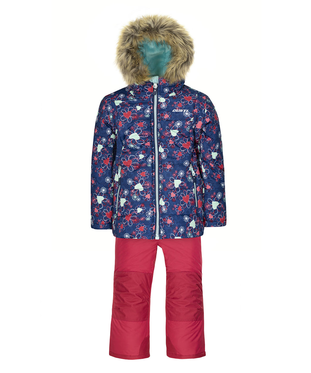 PALONE - Estate Blue - Girls Jacket and Snow Pant Set