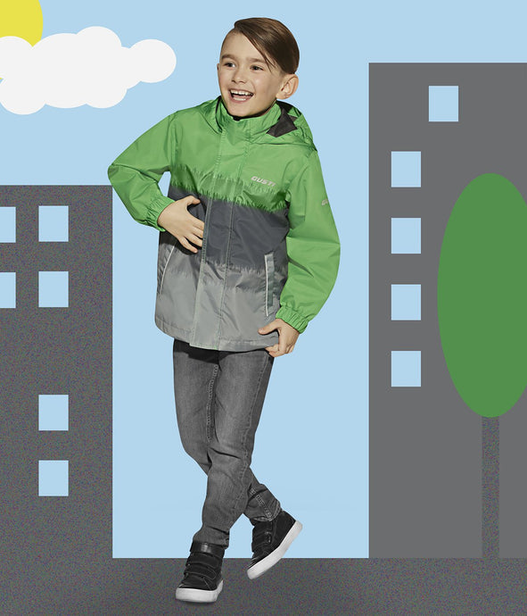 HARRY - GREEN - Boys 3 in 1 Jacket and Pant Set