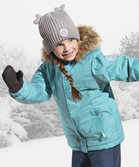 TATIANE - Teal - Girls Jacket and Snow Pant Set