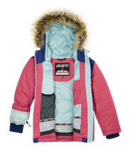 Load image into Gallery viewer, UVANIA - Estate Blue - Girls Jacket and Snow Pant Set