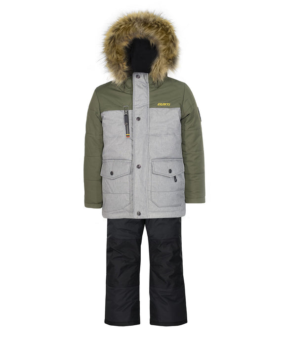 ELAN - Khaki - Boys Jacket and Snow Pant Set