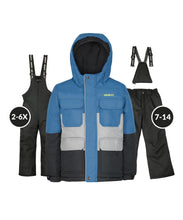 Load image into Gallery viewer, JAMES - Indigo - Boys Jacket and Snow Pant Set
