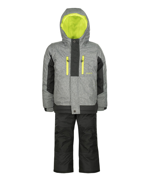 KEANE - Mix Gray - Boys Jacket and Snow Pant Set
