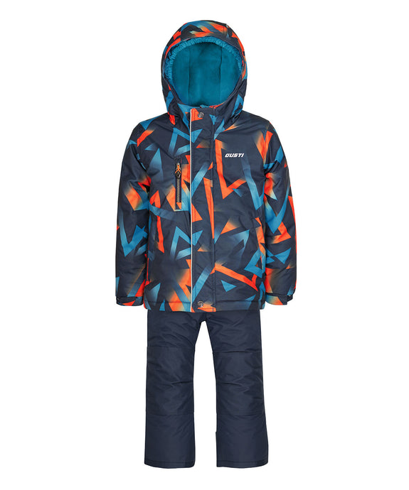 QUINTEN - Blue Sea - Boys Jacket and Snow Pant Set