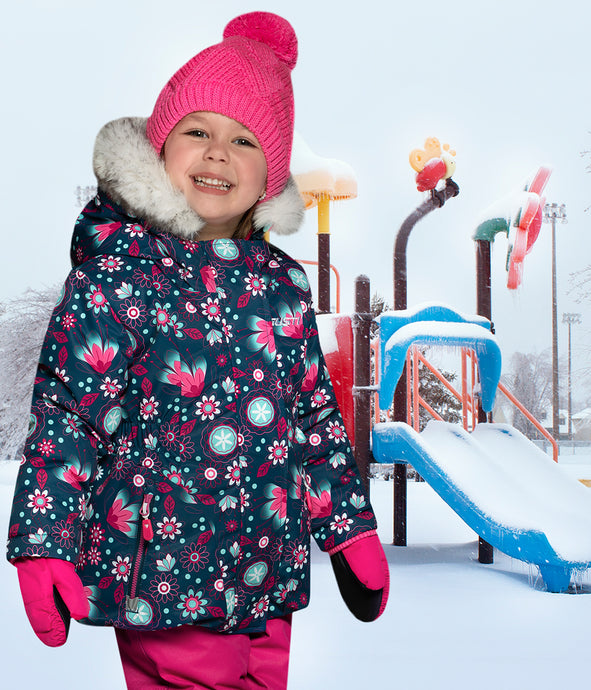HELIA - Marine - Girls Jacket and Snow Pant Set