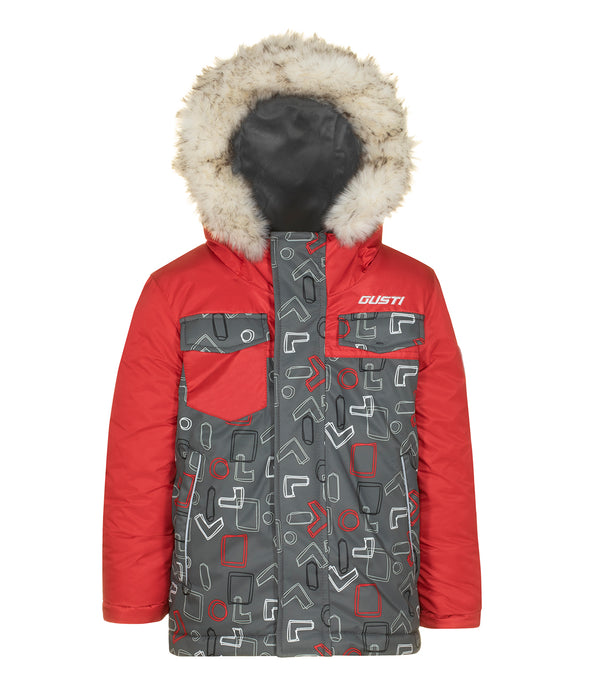 JACK - Red - Boys Jacket and Snow Pant Set