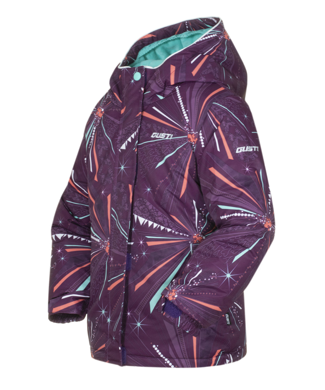 JESSICA - Plum - Girls Jacket and Snow Pant Set