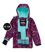 Load image into Gallery viewer, JESSICA - Plum - Girls Jacket and Snow Pant Set