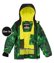 Load image into Gallery viewer, OSCAR - Green - Boys Jacket and Snow Pant Set