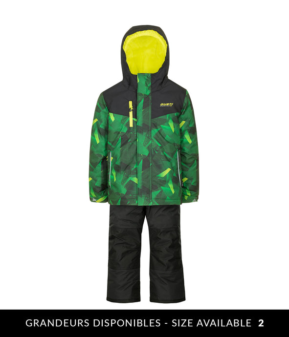 OSCAR - Green - Boys Jacket and Snow Pant Set