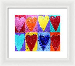 Hearts Of Plenty  - Framed Print
