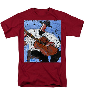 Blue Guitar  - Men's T-Shirt  (Regular Fit)