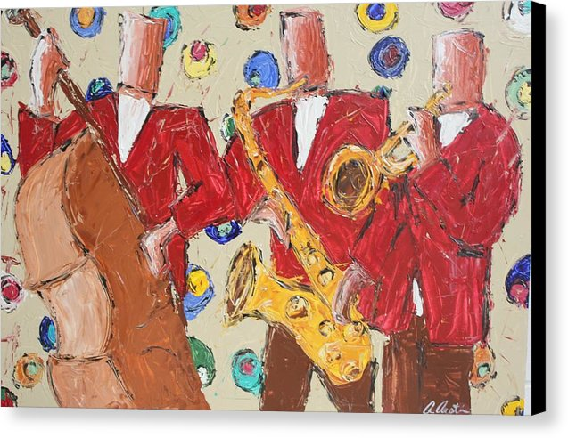 Jam Session - Canvas Print