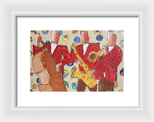 Jam Session - Framed Print