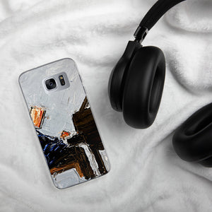 Blue Piano Samsung Case