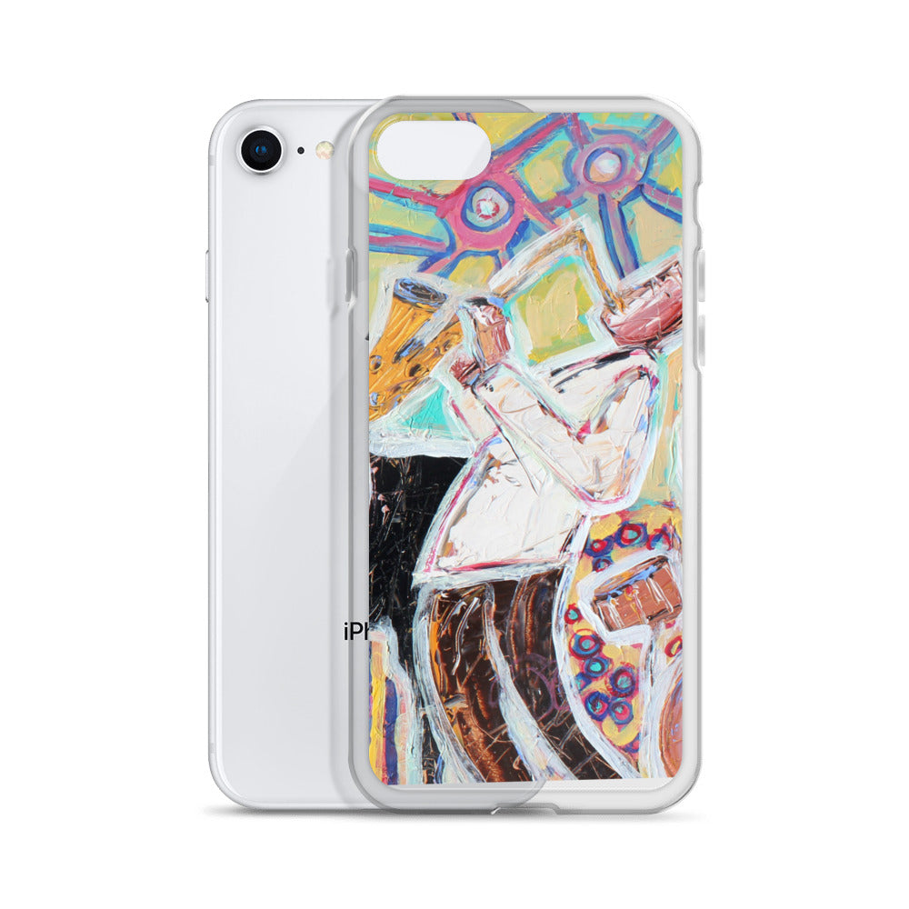 Saxophone Case iPhone Case