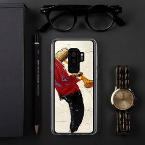 Red Jacket Trumpet Samsung Case