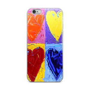 Hearts of Plenty iPhone Case