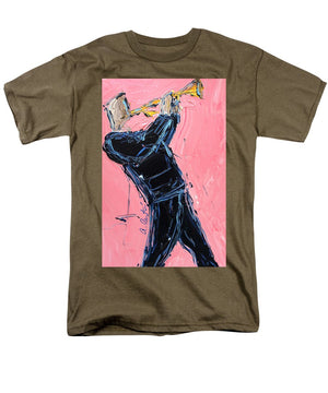 Trumpet Pink  - Men's T-Shirt  (Regular Fit)