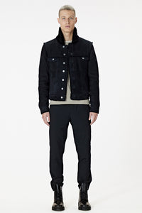 Spanish Merino Shearling Trucker: Tall