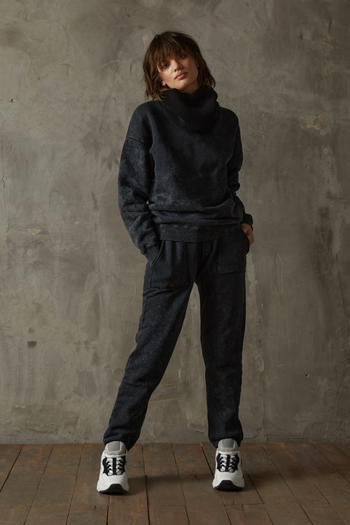 Women's Washed Black 530 Trackpant