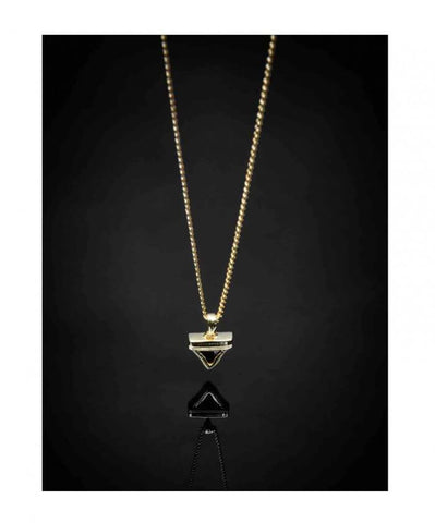 Baby Shark Tooth Pendant + Chain