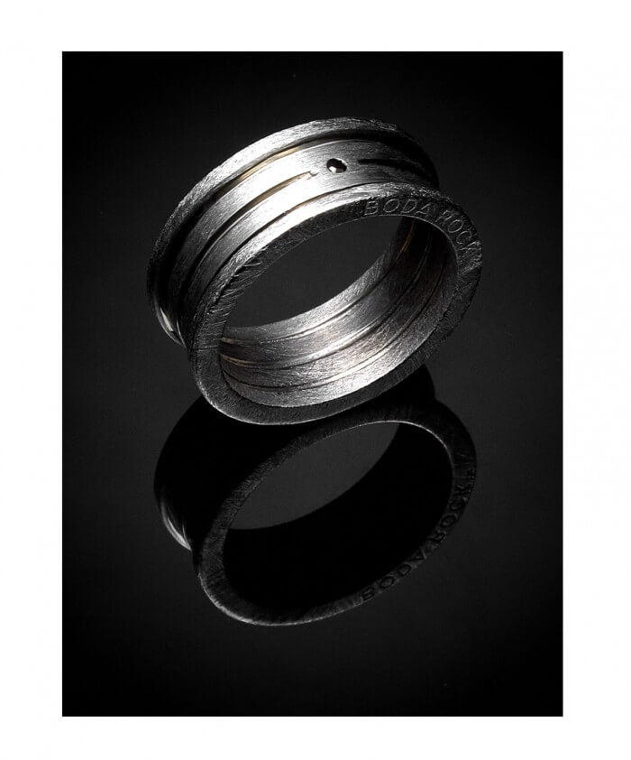 Shungite Connect Ring