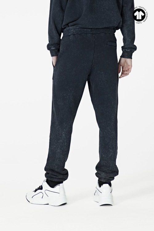 Men's Washed Black 530 Trackpant