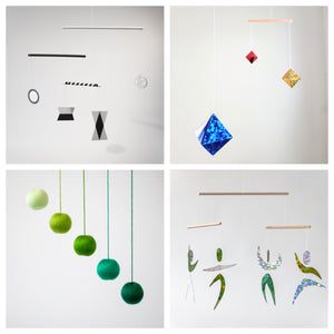Sets of 4 x montessori mobiles