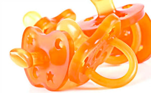Natural Rubber Pacifiers & Toys