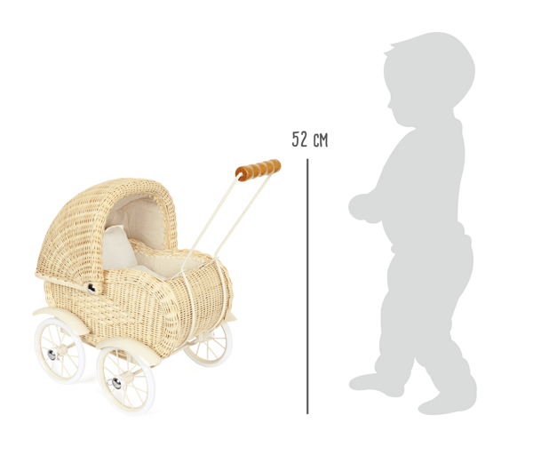 Doll's Wicker Pram