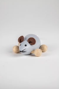 Gray Wooden Mouse