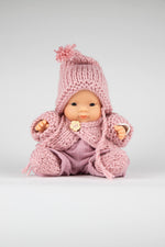 Load image into Gallery viewer, Miniland doll. Asian Baby Girl.
