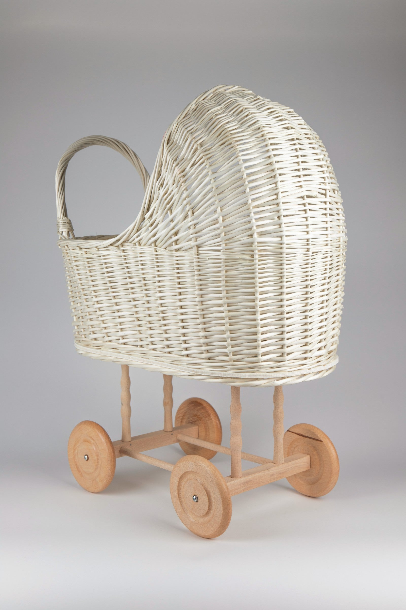 Wicker Baby Carriage, Wicker Doll Stroller, Wicker Doll Pram, Natural Doll Carriage, Wicker Willow Doll Stroller, Doll Stroller, Doll Pram