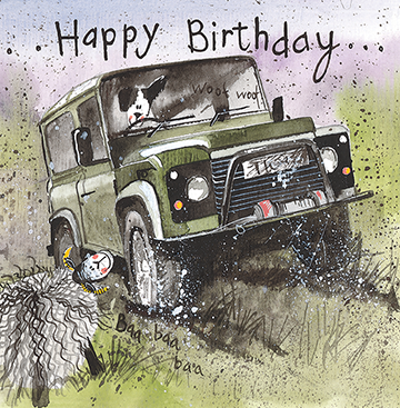 Off Roading 4x4 Card By Alex Clark