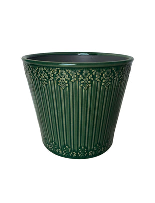 Laura Ashley Indoor Forest Green Edie Cone, ceramic