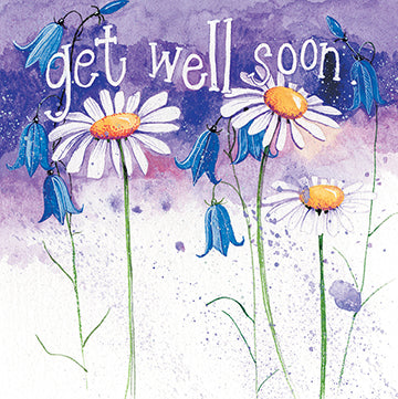Daisy Get Well Card By Alex Clark