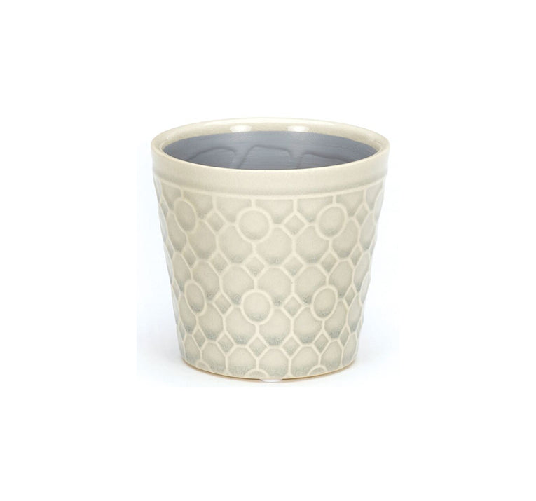 RHS Interiors Lattice white Cone