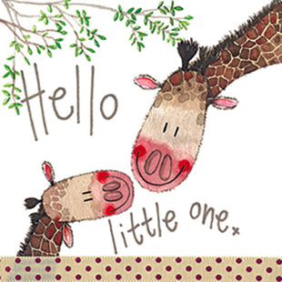 Hello Little One Card By Alex Clark