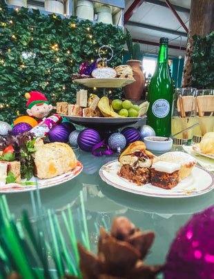 Olive's Luxury Christmas Afternoon Tea Box for Two