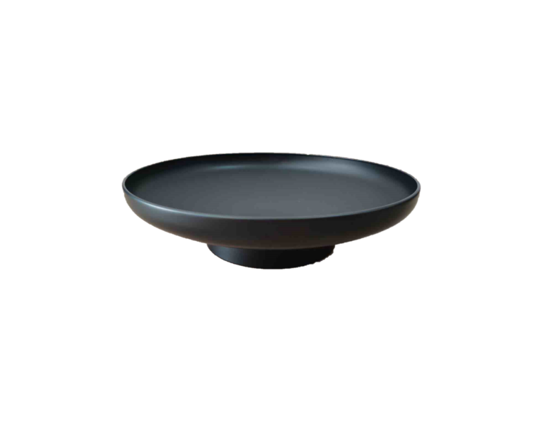 Rounded Steel Fire Bowl