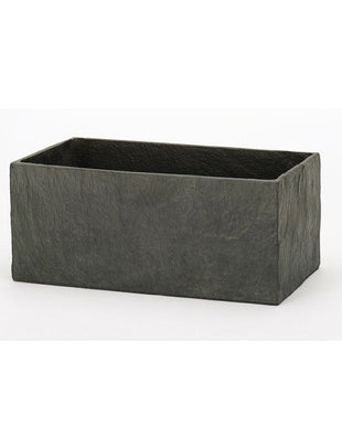 Slate Dark Grey Trough 50cm
