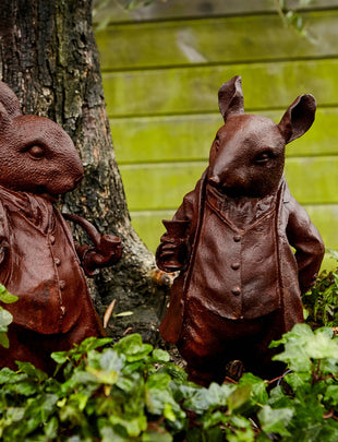 Charismatic Pair of Woodland Creatures