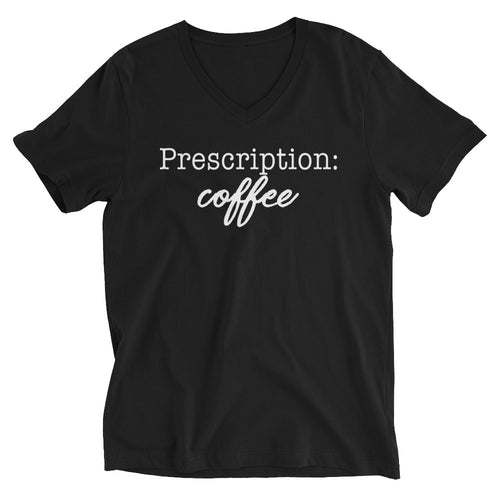 Prescription: Coffee T-Shirt Black
