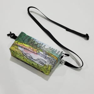 "Watercolor Series - Fanny Pack ""Boulder Canyon"""