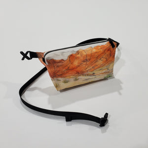 "Watercolor Series - Fanny Pack ""Red Rock Canyon"""