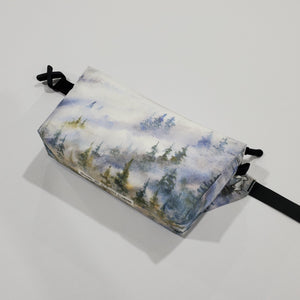"Watercolor Series - Fanny Pack ""Foggy Forest"""