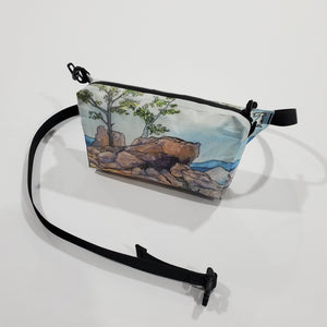 "Watercolor Series - Fanny Pack ""Lost Gulch Lookout"""