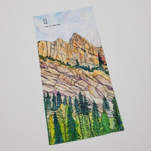 "Watercolor Series - Hiking Gaiter ""Eldorado Canyon"""