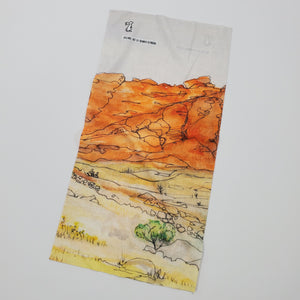 "Watercolor Series - Hiking Gaiter ""Red Rock Canyon"""